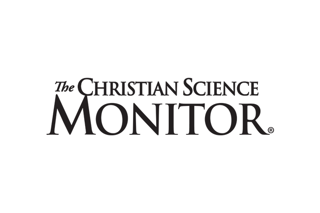 Anne and Brian Bercht in Christian Science Monitor